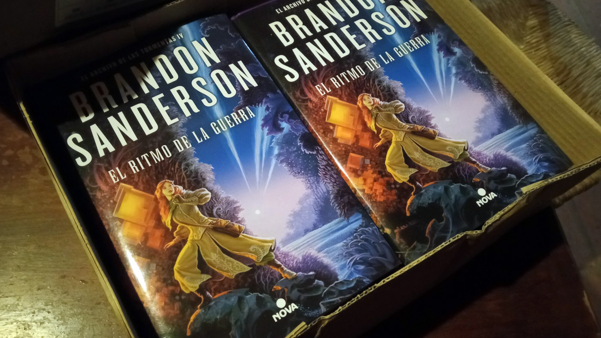 Los comentarios de Brandon Sanderson sobre «El Ritmo de la Guerra» (2/3)